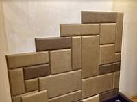 Мягкие стеновые панели, мягкая плитка в ткани, мягкие панели в ткани, мягкие панели в коже на заказ Одессе