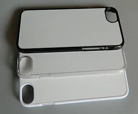 Чохол для сублімації 2D iPhone 7/8 пластик (білий)