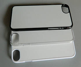 Чохол для сублімації 2D iPhone 7/8 пластик (прозорий)