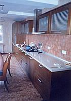 Кухни  с корпусами и фасадами из ясеня