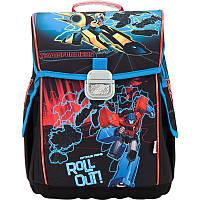Рюкзак школьный для мальчиков каркасный (ранец) 503 Transformers TF17-503S Kite
