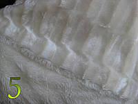 Меховая наволочка норка с длинным ворсом 50х70