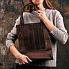 """Стильна, містка сумка з натуральної шкіри """"Бетсі"""" кольору горіх ..., фото 9"""