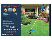 Бензокоса Беларусмаш ББТ-5950 ( нож 2-х, лопостной нож 3-х лопостной, нож победит, паук, бабина с леской)