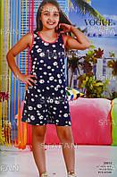 Детский летний комбинезон для девочки Турция. VOGUE 20012 6/7. Размер 6-7 лет.
