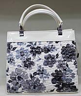 Сумка женская Цветы стильная красивая классика 17-6015-16