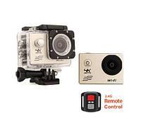 Экшн-камера Sports cam 4K UltraHD SJ8000+R с пультом