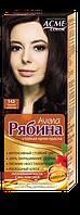 Краска для волос Рябина 142 Чёрный Шоколад