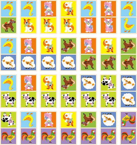 Настільна гра «Viga Toys» (51306) доміно Ферма, фото 2