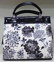 Сумка женская Цветы стильная красивая классика 17-6015-18