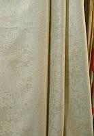 Шторная ткань блэкаут цвет серый