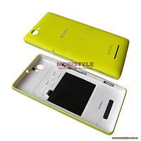 Задняя крышка Sony C1905 Xperia M yellow