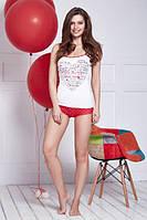 6212 комплект женский майка+шорты Anabel Arto