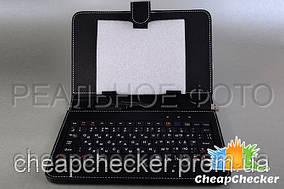 Чехол Клавиатура 9,7 Дюймов micro USB Русская