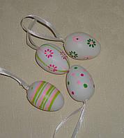 Яйцо салатово-розовое 4 см микс подвесное
