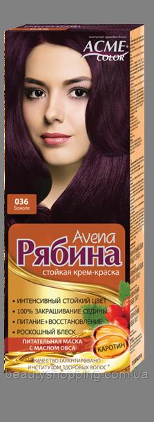 Краска для волос Рябина 036 Божоле