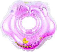 Круг на шейку для купания Kinderenok floral