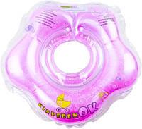 Круг на шейку для купания Kinderenok Фуксия