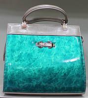 Сумка женская Голограмма  стильная красивая классика 17-6015-20