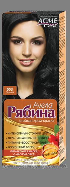 Краска для волос Рябина 053 Черный