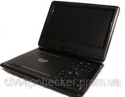 Портативный DVD Плеер 989 USB Game TV 9,5 дюймов