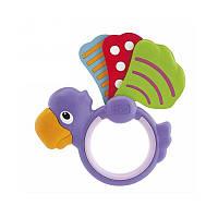 Погремушка Прорезыватель для зубок Попугай Chicco 72366