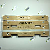 Деревянные направляющие на поршень пресс-подборщика Welger АР 41 (комплект)