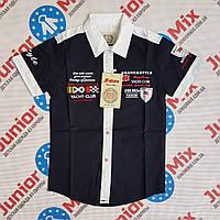 Рубашка на мальчика на  короткий рукав  NATURE
