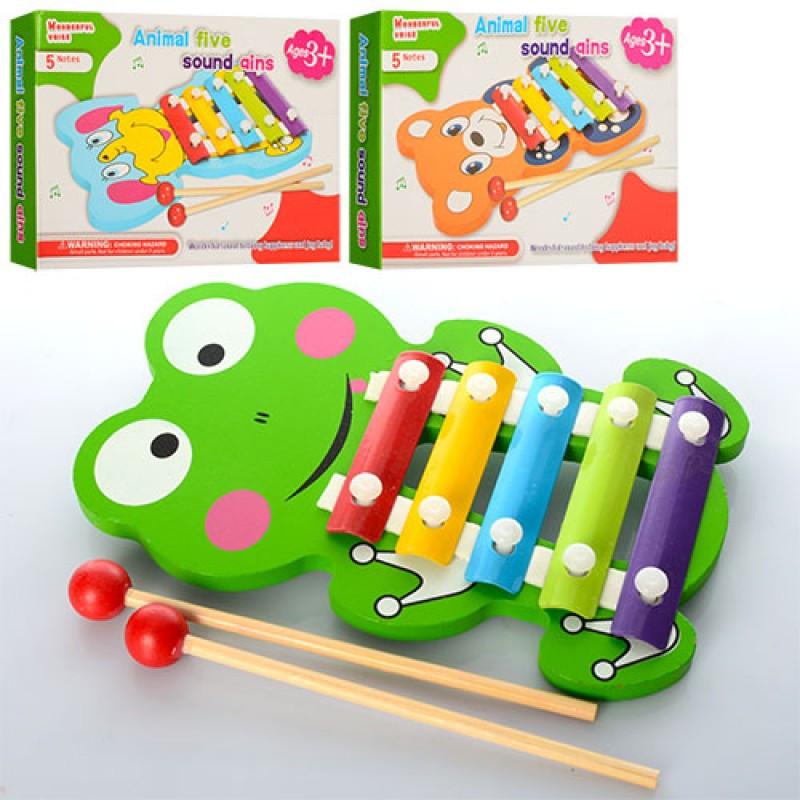 Деревянная игрушка Ксилофон E12586 М
