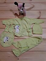 Набор детский трикотаж 5 предметов 0-3 месяцев купить оптом