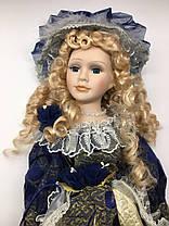 """Фарфоровая, коллекционная кукла, сувенирная 50 см """" Александра """", фото 2"""