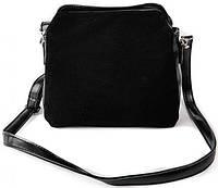 Женская замшевая сумка клатч планшет