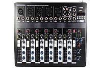 Аудио Микшер Mixer BT 7000 Микшерный Пульт 4 Канала 4ch