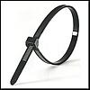 Кабельная стяжка защелкивающаяся черная 7.9*350мм. (8*350) (100шт.)
