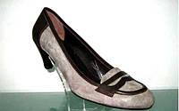 Женские туфли на среднем каблуке.Распродажа по оптовым ценам., фото 1