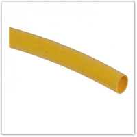 Трубка термоусадочная ТТУ 6/3 желтая