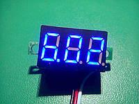 Цифровой вольтметр DC 0 - 30 вольт, синий, фото 1