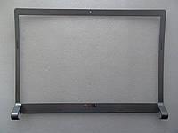 Рамка матрицы дисплея для Dell Studio 1535, 1536, 1537, 0M135C BEZEL  серебристая глянцевая