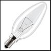 Лампа декоративная свеча Львов В35 230В 25Вт Е14