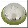 Светильник круглый пластик Звезда зеленый