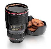 Чашка Черная Caniam Объектив Canon EF 24 105