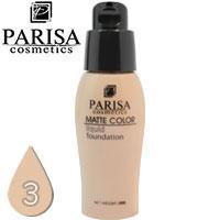 Parisa - Тональный крем Matte Color F-06 матирующий Тон 03 peach beige