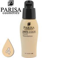 Parisa - Тональный крем Matte Color F-06 матирующий Тон 04 light beige