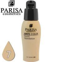 Parisa - Тональный крем Matte Color F-06 матирующий Тон 07 sand beige