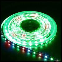 МОТОКО Светодиодная лента smd 5050, 30 Led/m, DC 12, 7.2 W/m, IP65 RGB