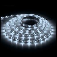 МОТОКО Светодиодная лента smd 3528, 120 Led/m, DC 12, 9.6 W/m, IP65 белый двойная плотность