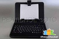 Чехол Клавиатура 10 Дюймов micro USB Русская