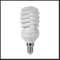 Лампа энергосберегающая LUXEL 115-N/4100K 15 W E-14