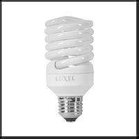 Лампа энергосберегающая LUXEL 218-N/4100K 23 W E-27