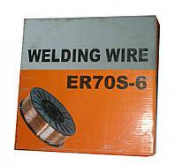 Проволока сварочная омедненная 0,8 мм Welding Wire 1 кг на полуавтомат